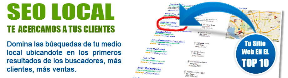 posicionamiento web y seo local
