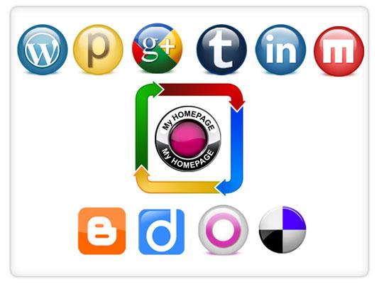 Cuentas social media